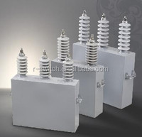 High Voltage induction furnace capacitors