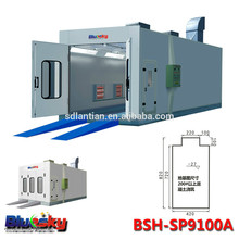 2015 new product industrial spray room/inflatable auto paint booth/electric heating spray booth