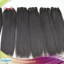 hotselling yaki hair extension Remy hair weaving YAKI style length from 8inch to 30 inch