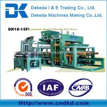 DK18-15F precio de la máquina de fabricación de ladrillos de buena calidad