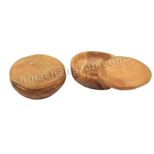 Fir Genyi even custom-lid exquisite carving and practical small pieces of salt box tea box storage box