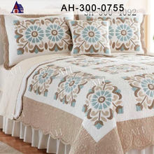 High Quality OEM Thick Microfiber Handmade Luxury Kantha Bed Quilt Blanket