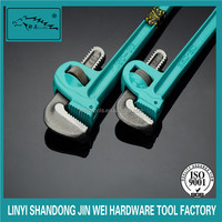 ratchet pipe wrench/pipe wrench sizes/china factory