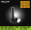 2015 new product magnetic switch diving flashlight