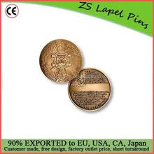 Custom quality free artwork design Blue Nose Commemorative Coin