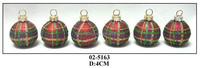 Handmade Colorful Glass Christmas Hanging Balls for Decoration
