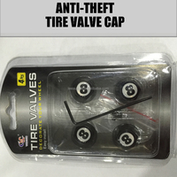 Anti-theft Car Tire Valve Cap with new logo in 2015
