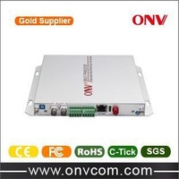 manufactory product 16 Channel Video Fiber Optic Transceiver with 16 Forward Audio