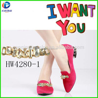 HW4280-1 Renqing jewel factory Two Lips Too Sunrise Flats Bling White Diamond Metal Chain Accessories