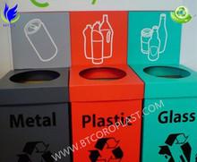 Wholesale for Corrugated plastic waste bins