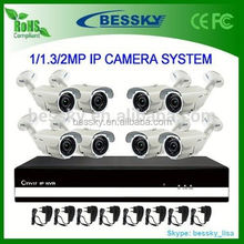 8 channel H.264 Network CCTV NVR System,cctv system package kit cheap home use