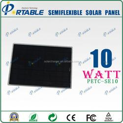 cheap solar panels china portable 10watt fabric solar panel