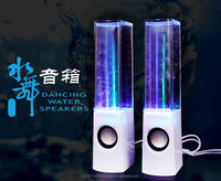 Dancing water speaker and led light for mobile phones/MP3 /Laptop wireless speaker bluetooh 3.5mm Stereo Audio Cable