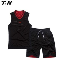 cheap reversible men basketball jersey with numbers