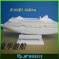 miniatura de plástico tanque modelo de navio para o local de exposições