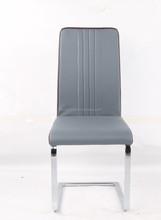 high back design cheap matel dining chair