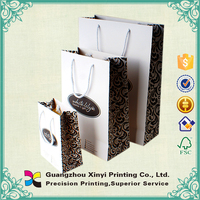 China supplier high quality cheap popular wine gift paper bag