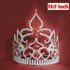 cheap tall pageant crown tiara,cheap beauty pageant tiaras,Tiara and crowns