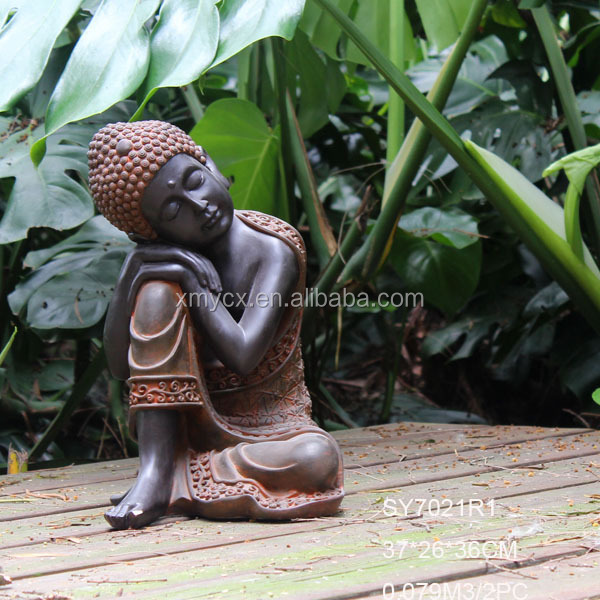 R sine statue de bouddha moderne jardin sculpture artisanat en r sine id de produit 1973175312 - Statue de jardin en resine ...
