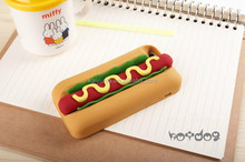 Fashion new design shenzhen 3D silicone phone cover case hot dog case for iphone 6/5