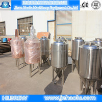 100L mini beer brewing equipment,small sized beer fermenting equipment