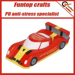 Polyurethane foam custom sports car shaped stress balls