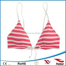 sailer strip-tie frant french export swimwear bikini