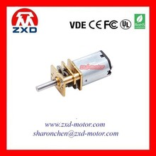 low speed 12v dc gear motor for home appliance