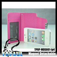 new products 2014 fashion design iphone leather case for iphone4