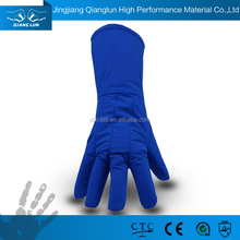 QL anti liquid nitrogen gloves used in low temperature environment