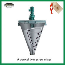 JCT good performance conical mixer For Powder and Fluid/Vertical Dual Screw Mixer