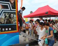 Newest Mobile 5d Cinema,/Hot sale 5d cinema/amusement park games factory