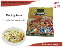 50g OEM ODM Asian Fried Rice Pouch Stir Fry Sauce