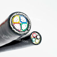 0.6/1KV~26/35KV Low/Medium/High Voltage Fire-resistant Underground Armoured PVC Insulated Power Cable