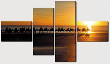 Desert camel sunset canvas pictures,modern canvas painting,canvas wall art