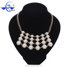 Factory price wholesale women fashion pearl latest design beads necklace