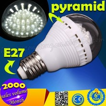 2015 Hot Selling Wholesale High Brightness E27 3W Home LED Lighting Bulb