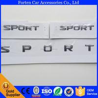 custom chrome ABS car LX570 logo 3D rear badge decal sport emblem sticker