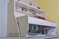 High quality where can i buy a murphy bed promotion Queen size with shelving vanrom furniture