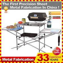 Deluxe Outdoor Kitchen Portable Camping Folding Table