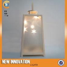 5L Led candle holder square,tealight holder square,home decoration lantern manufacturer