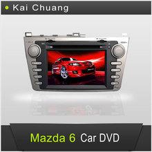 8 inch Double din car dvd gps for Mazda 6 2012
