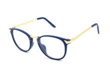 ewhxyj Korea retro plain mirror the great circle of metal thin legs plain glass spectacles frame glasses frame glasses frame fac