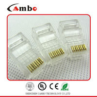 Free sample UTP/FTP CAT5E/CAT6 Stranded Solid network cable 8P8C unshielded/shielded Gold Plated rg45 connector