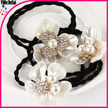 The lady of shell series flower hair bands With delicate hair rope Hair accessories wholesale