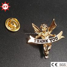 2016 china metal pin badge for Thanksgiving day