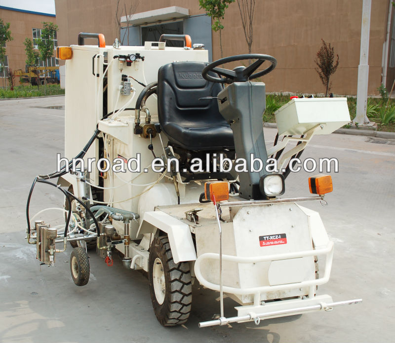 Small Driving Cold Applied Road Marking Machine