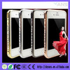 China Bling Shining Crystal Diamond Hard Frame Aluminum Metal Case For Samsung