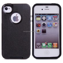 best selling products tpu pc hybrid protective phone case for iphone 4 4s