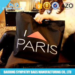 Colorful promotion recyclable shopping cotton bag